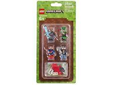 Lego Minecraft - Minifigures Skin Pack 1 - 853609 - BNISP - AU Seller