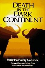 Capstick, Peter Hathaway   DEATH IN THE DARK CONTINENT hardcover