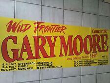GARY MOORE  1987   orig. Concert - Konzert - Poster 168 x 59 cm SONDERGRÖSSE