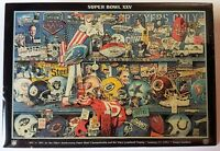 1991 NFL SUPER BOWL XXV (25) Commemorative Lapel Pin NY GIANTS vs. BUFFALO BILLS