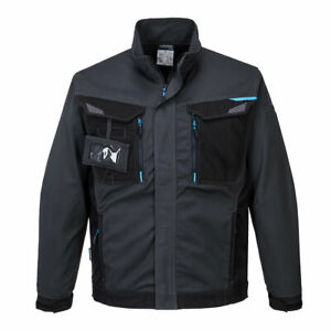 Portwest T703 WX3 Work Wear Reflective Trims Durable Multi Pocket Jacket