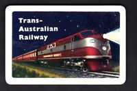 Vintage Swap/Playing  Card - Trans Australian Railway