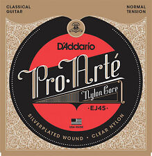 D'Addario EJ45 Pro Arte Classical Guitar Strings Normal Tension