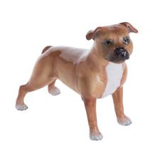 John Beswick Dog Staffordshire Bull Terrier Red JBD92 Boxed Figurine