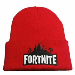 Fortnite Gaming Beanie Warm Knit Stocking Hat ONE SIZE Skullies Winter Outdoor