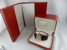 Polierte rechteckige Cartier Armbanduhren