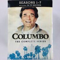 Columbo: Complete Series - All Seasons 1-7 plus 24 TV Movies (DVD 34-Disc Box Se