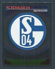 PANINI UEFA CHAMPIONS LEAGUE 2007-08- #366-SCHALKE 04 TEAM BADGE-SILVER FOIL