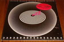 QUEEN JAZZ  ORIGINAL LP STILL IN SHRINK  WITH STICKER ON SHRINK PLUS POSTER