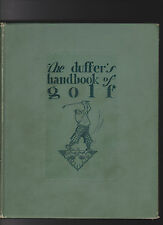 THE DUFFER'S HANDBOOK OF GOLF.IST ED.1926.NICE COPY.NICE COPY!