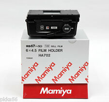 Mamiya RB PRO-SD 120 6x4.5 FILM HOLDER / FILM BACK (NO DARK SLIDE, NO MASK)