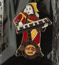 Hard Rock Cafe Pin QUEEN OF HEARTS Keyboard Band logo LAS VEGAS STRIP LE 300