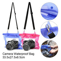 New DSLR Camera Waterproof Bag Underwater Housing Case Pouch Cover Dry Bag Hot