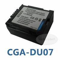 Battery for HITACHI DZ-GX5060E DZ-BP07PW DVD CAM Camera