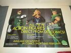 DC DIRECT ACTION FIGURE PROMO POSTER 2000 GREEN LANTERN BLACK CANARY GREEN ARROW