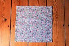 Handmade Liberty Fabric Pocket Square Handkerchief Wedding Spring Gift