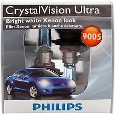 Philips 9005 Crystal Vision Ultra Head Light 2 Pack