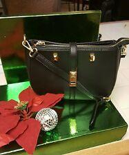 Adrienne Vittadini  Black Shopper Tote Handbag Purse
