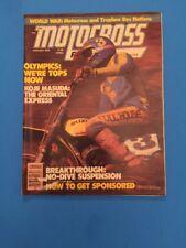 MOTOCROSS ACTION MAGAZINE JANUARY 1978 SUZUKI RM50 BRITISH 250 GRAND PRIX