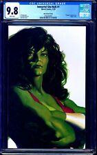 Immortal She-Hulk #1 ALEX ROSS TIMELESS VARIANT CGC 9.8 NM/MT
