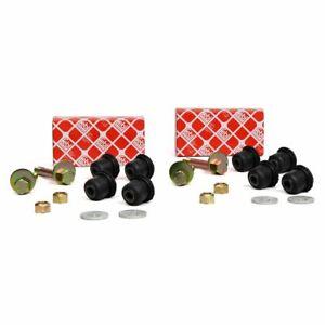 2x FEBI Montagesatz Achslenker für MERCEDES /8 W114 W115 Vorderachse unten