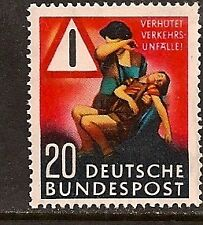GERMANY 1953 TRAFFIC ACCIDENT SC # 694 MNH