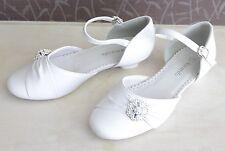 Zapatos de chicas Fiesta formal Vestido de Comunión Boda Dama de honor flores niña