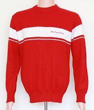 RARE! Vintage Jesse Owens Classic Ohio State University Sweater LARGE Red