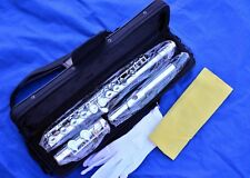 New Silver-Plated C Flute Closed Hole -Great for School Band Student, Fast Ship*