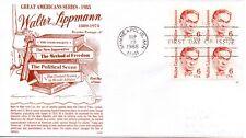 US FDC #1849 Lippmann, Gamm (6648)
