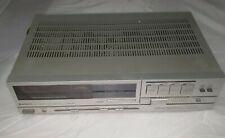 Hitachi Hta-25F Am-Fm Stereo Tuner Amplifier Quartz Digital Synthesizer Silver