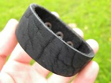Bracelet wristband Genuine Buffalo Leather nice for Bulls Bills fans