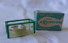 VINTAGE BARRETTS DOLLS HOUSE AQUARIUM GOLDFISH TANK  PETS - BOXED