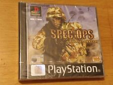 SPEC OPS AIRBORNE COMMANDO UK PAL VERSION (PS1) BRAND NEW AND FACTORY SEALED