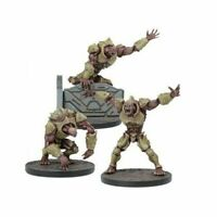Unboxed Mantic Plague Warpath Faction 3x 2nd Generation mutants deadzone 40k gen