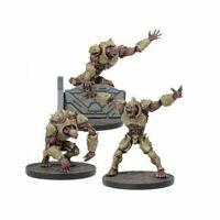 Unboxed Mantic Plague Warpath Faction 3x 2nd Generation mutants deadzone 40k gen
