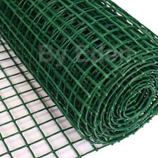 Plastic Sqaure Mesh Garden Border Netting Flexible Fencing Plant Barrier Safety