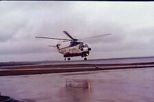 British Airways SIKORSKY S61 LANDING WET  -  6x4 Print