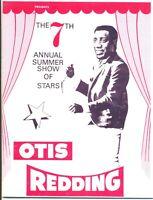 Otis Redding Concert Program