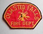 """Olmsted Falls Fire Dept Patch - Ohio - vintage - 4 3/4"""" x 3 1/4"""""""