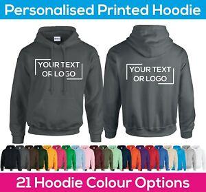 Custom Printed Hoodie - Personalised Workwear Stag Hen Event Sports Team Hoody
