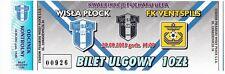 Ticket - Wisla Plock v FK Ventspils 28.08.03 UEFA Cup