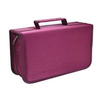128 Capacity CD/DVD Case Wallet Binder Storage Holder Booklet for Car Home NEW