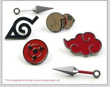 for ONE  NARUTO: Gaara, Sharingan, Kunai  Pin/Breastpin  Bag/Clothes Accessories