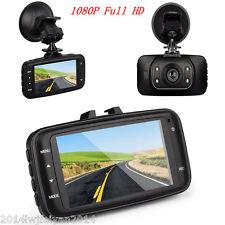 "2.7"" LCD Car Dash Cam Video Recorder 140°Wide Angle HD Camera DVR 1080P G-Sensor"