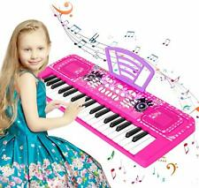Portable Kids Piano Keyboard 37 Keys Electronic Musical Educational Gift Toy