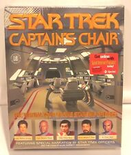 Star Trek Captain's Chair Windows 95 And Macintosh Computer Software Game Sealed