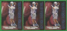1998 Fleer Football Rookie Sensations #9 Peyton Manning 3 Card Lot !!!!