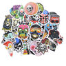 50pcs Mixed Skull Laptap Stickers For Fridge Skateboard Home Decor Doodle To TPI