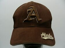 ALASKA - BROWN - POLYESTER SUEDE - ONE SIZE ADJUSTABLE BALL CAP HAT!